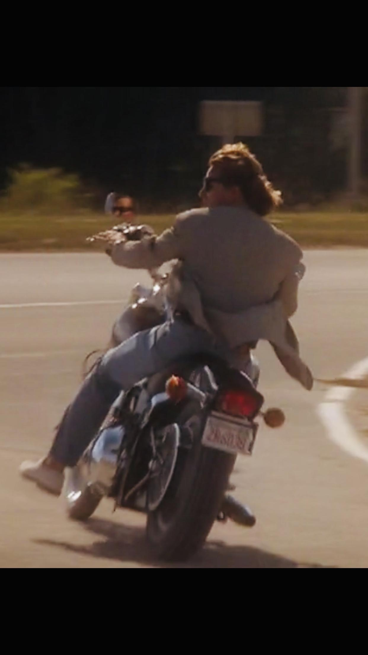 If Crockett rode a motorcycle? - General - The Miami Vice Community